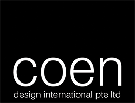 An image of the logo of one of HTLand's consultants, COEN Design International Pte. Ltd.