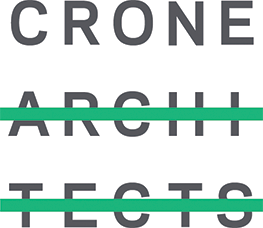An image of the logo of one of HTLand's consultants, Crone Architects.