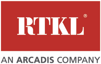 An image of the logo of one of HTLand's consultants, RKTL, an Arcadis Company.